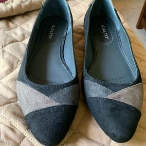 Rialto 8.5 M black and brown tri-color shoe